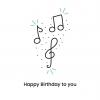 Happy birthday kaartje