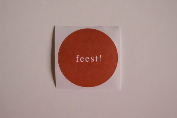 Sticker - Feest