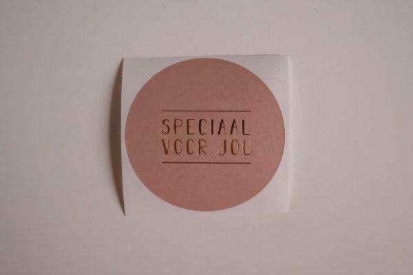 Sticker - Speciaal voor jou