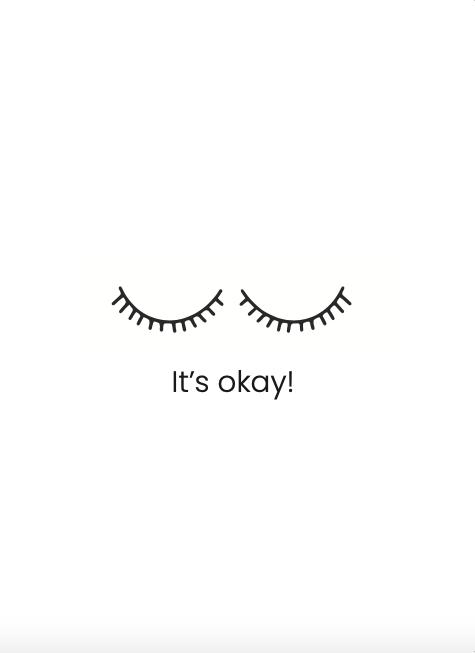 It's okay - kaart