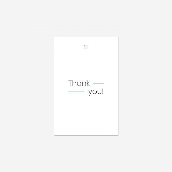 Cadeaulabel   Thank you